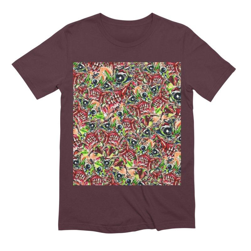 full teeth Men's Extra Soft T-Shirt by okik's Artist Shop