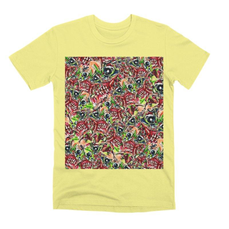 full teeth Men's Premium T-Shirt by okik's Artist Shop