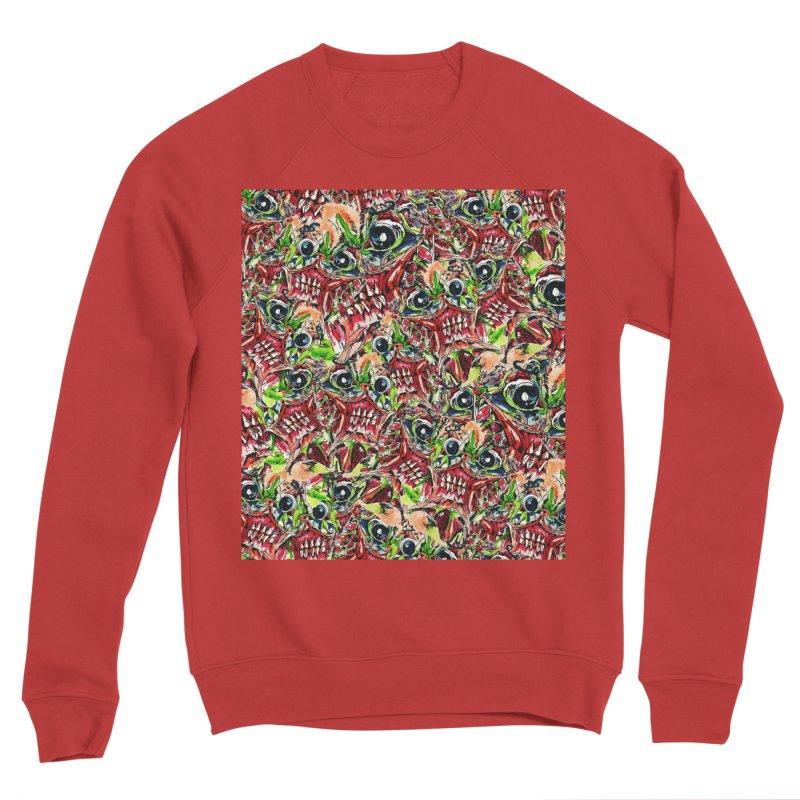 full teeth Men's Sponge Fleece Sweatshirt by okik's Artist Shop