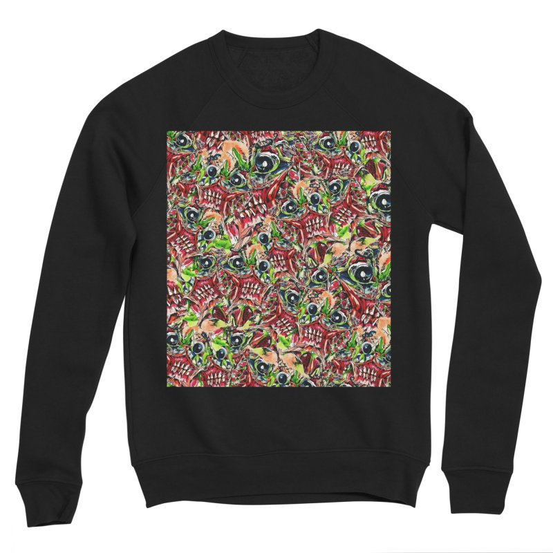 full teeth Women's Sponge Fleece Sweatshirt by okik's Artist Shop