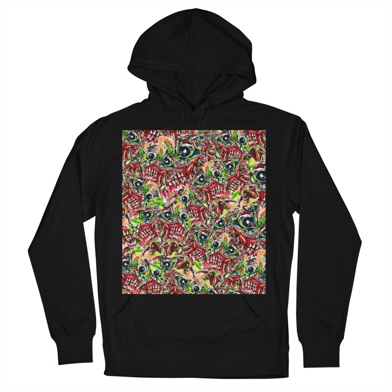 full teeth Women's French Terry Pullover Hoody by okik's Artist Shop