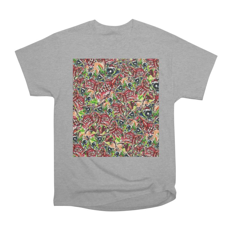 full teeth Women's Heavyweight Unisex T-Shirt by okik's Artist Shop