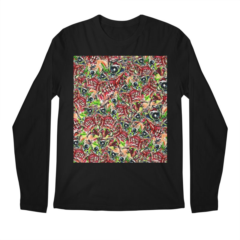 full teeth Men's Regular Longsleeve T-Shirt by okik's Artist Shop