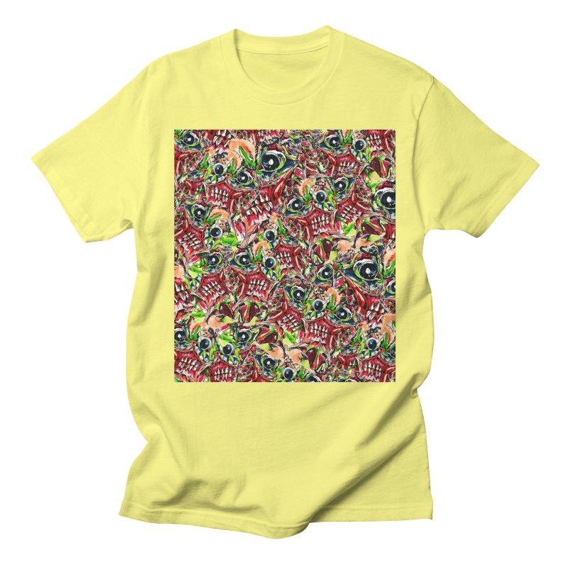 full teeth Men's Regular T-Shirt by okik's Artist Shop