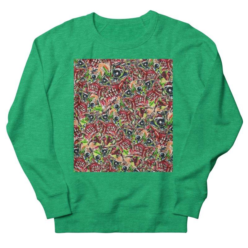 full teeth Women's French Terry Sweatshirt by okik's Artist Shop