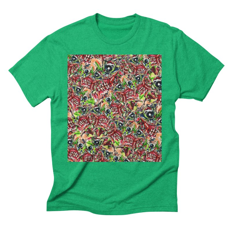 full teeth Men's Triblend T-Shirt by okik's Artist Shop