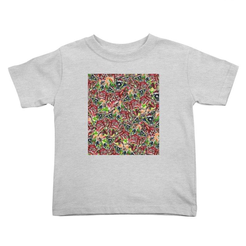 full teeth Kids Toddler T-Shirt by okik's Artist Shop