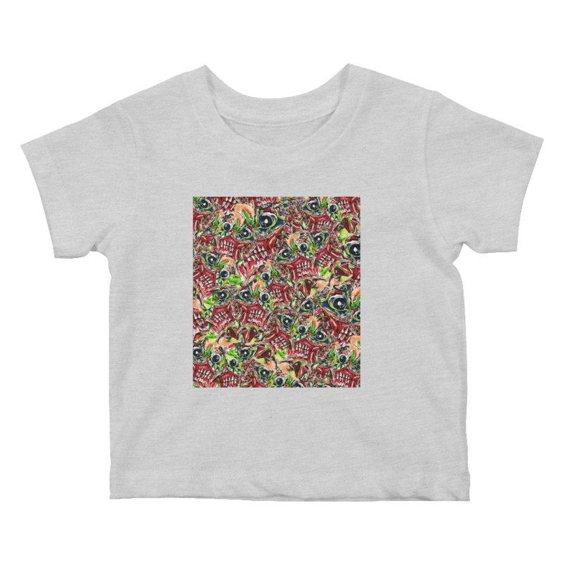 full teeth Kids Baby T-Shirt by okik's Artist Shop