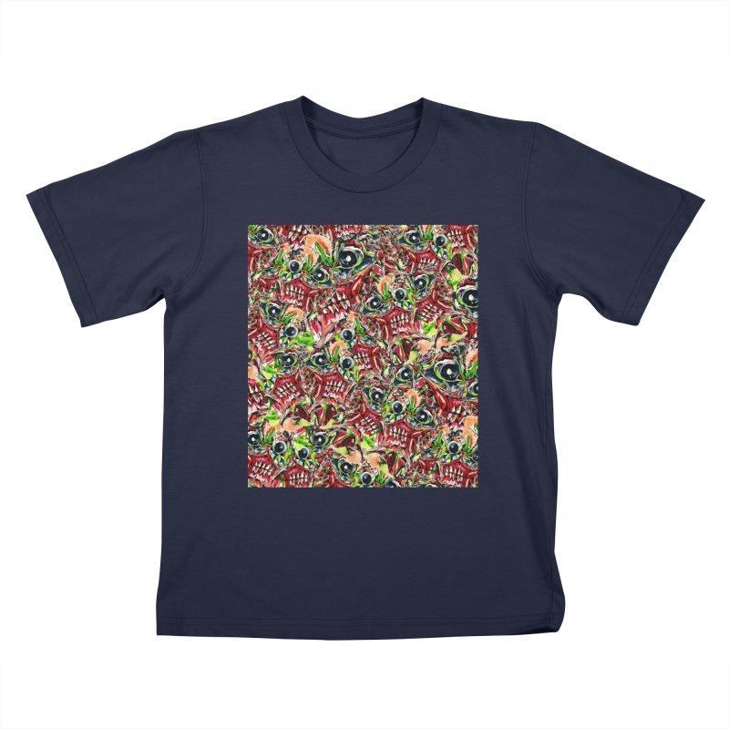 full teeth Kids T-Shirt by okik's Artist Shop