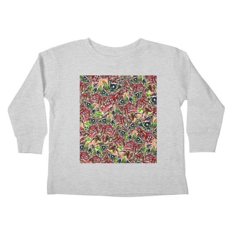 full teeth Kids Toddler Longsleeve T-Shirt by okik's Artist Shop