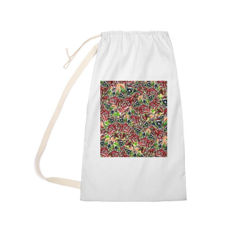 full teeth Accessories Laundry Bag Bag by okik's Artist Shop