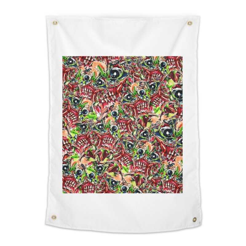 full teeth Home Tapestry by okik's Artist Shop