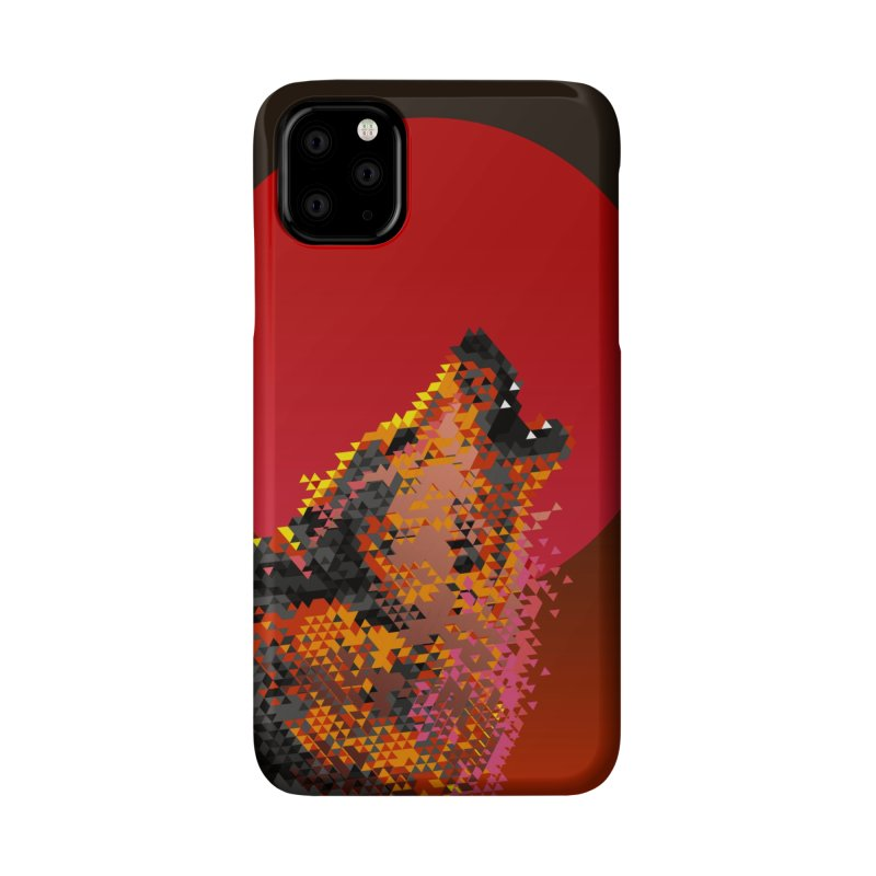 red moon rising Accessories Phone Case by okik's Artist Shop