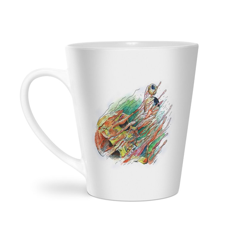 fade out Accessories Latte Mug by okik's Artist Shop