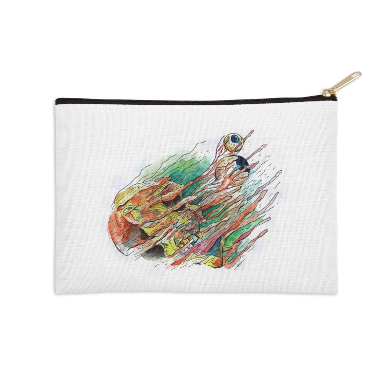 fade out Accessories Zip Pouch by okik's Artist Shop
