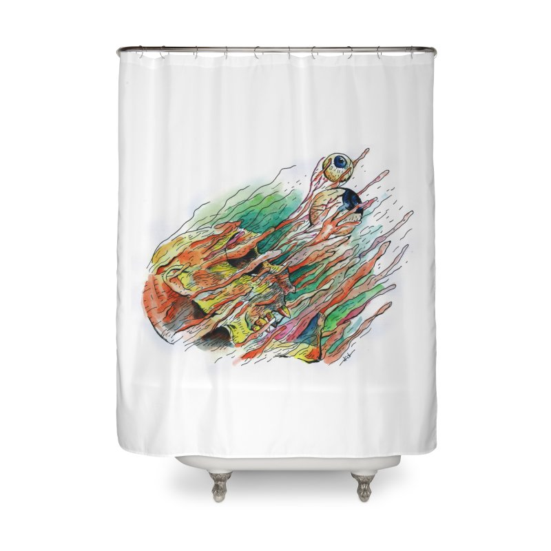 fade out Home Shower Curtain by okik's Artist Shop