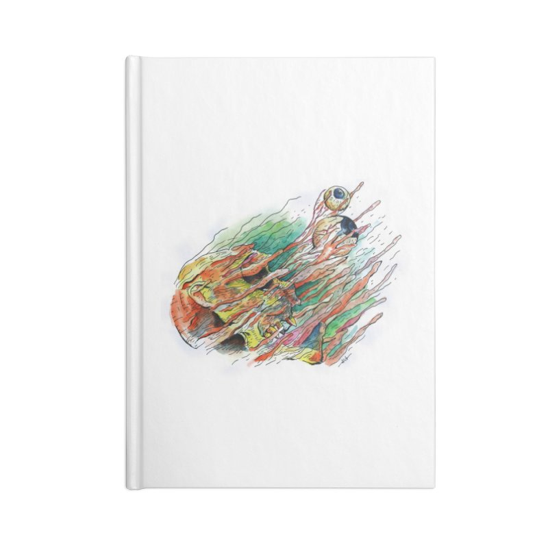 fade out Accessories Lined Journal Notebook by okik's Artist Shop