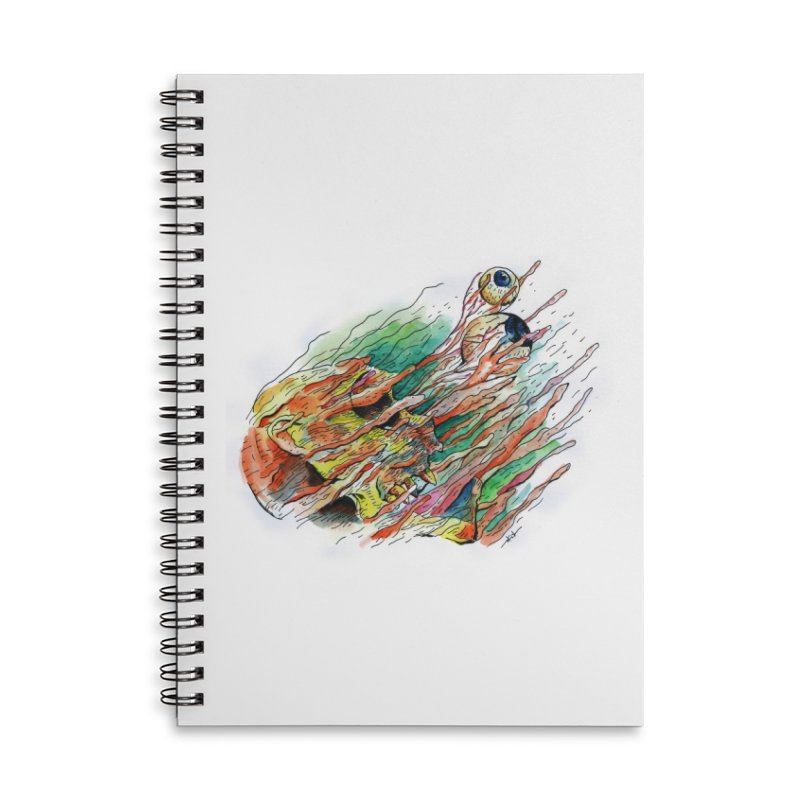 fade out Accessories Lined Spiral Notebook by okik's Artist Shop
