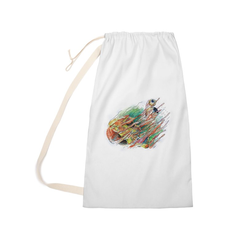 fade out Accessories Laundry Bag Bag by okik's Artist Shop