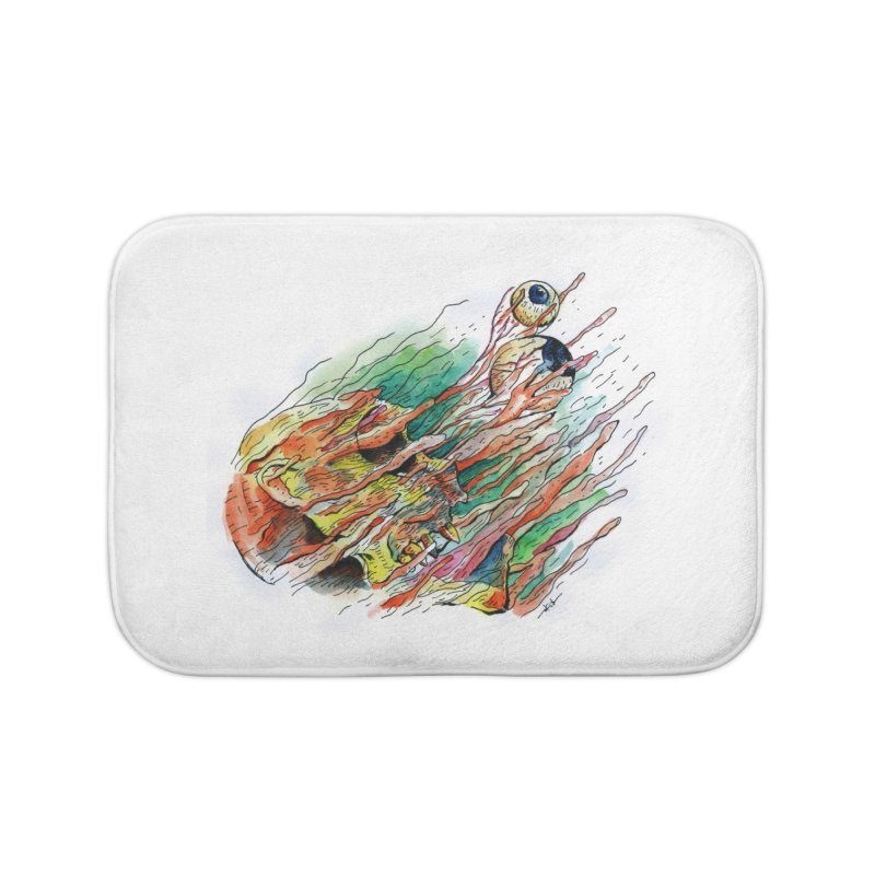 fade out Home Bath Mat by okik's Artist Shop