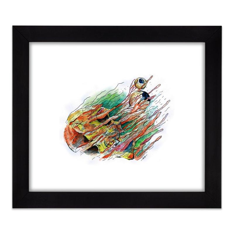 fade out Home Framed Fine Art Print by okik's Artist Shop