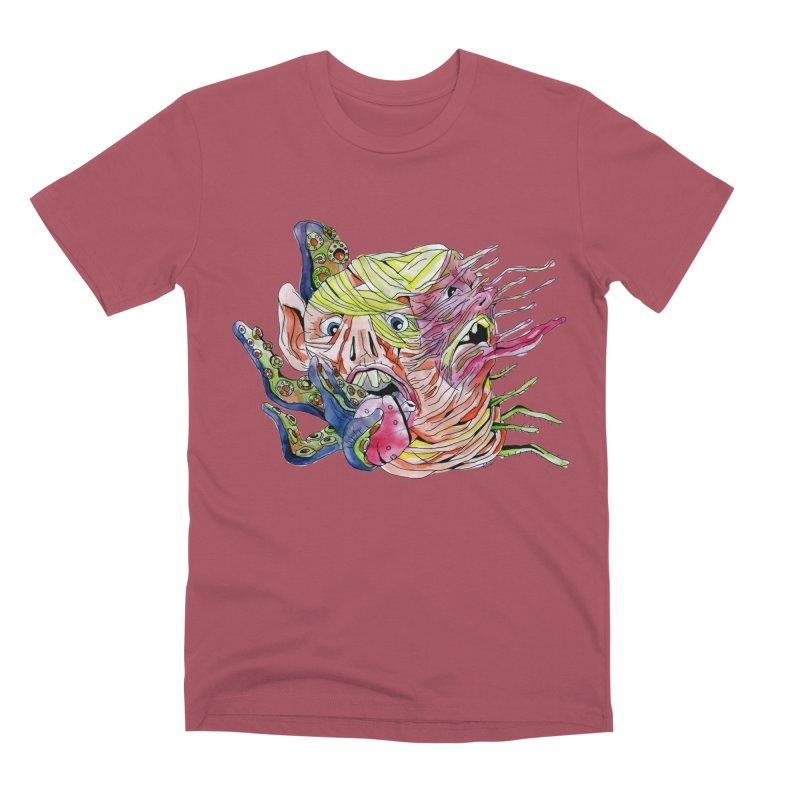 parasyte!!! Men's Premium T-Shirt by okik's Artist Shop