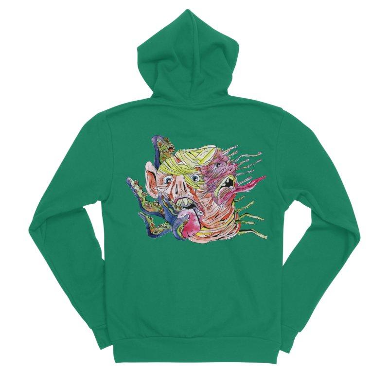 parasyte!!! Men's Sponge Fleece Zip-Up Hoody by okik's Artist Shop