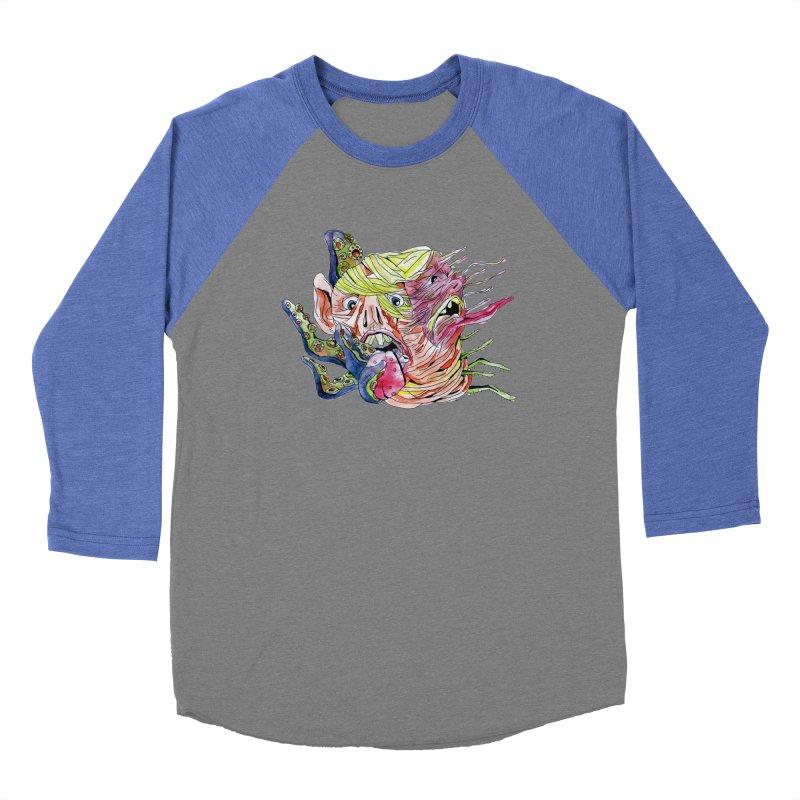 parasyte!!! Men's Baseball Triblend Longsleeve T-Shirt by okik's Artist Shop