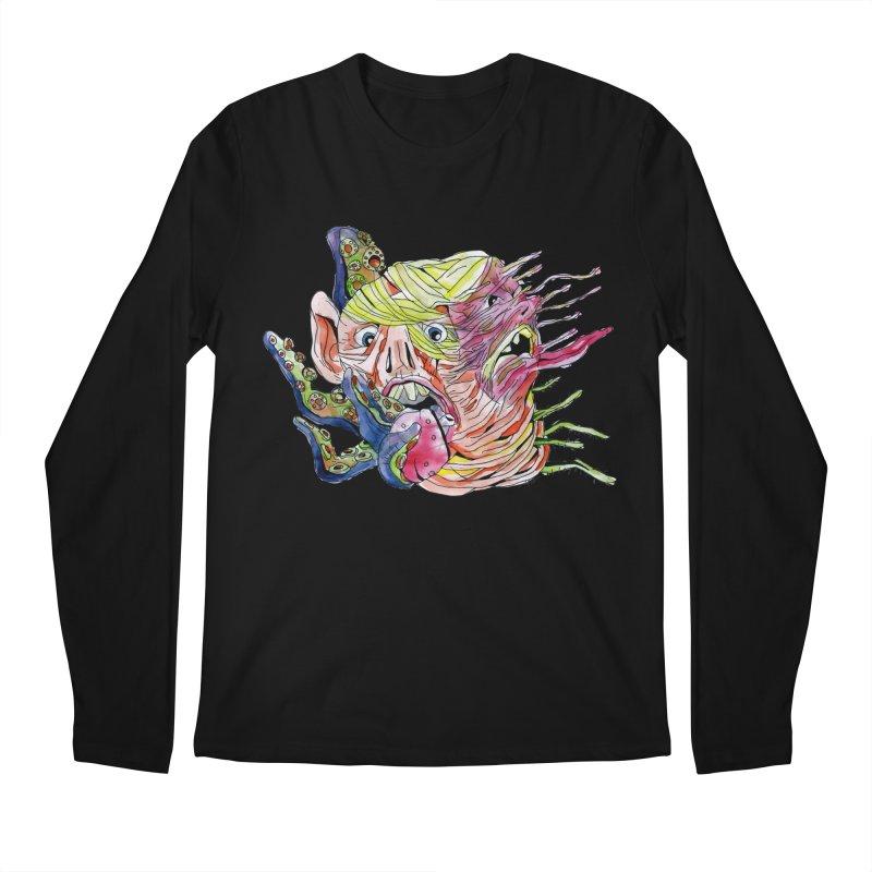 parasyte!!! Men's Regular Longsleeve T-Shirt by okik's Artist Shop