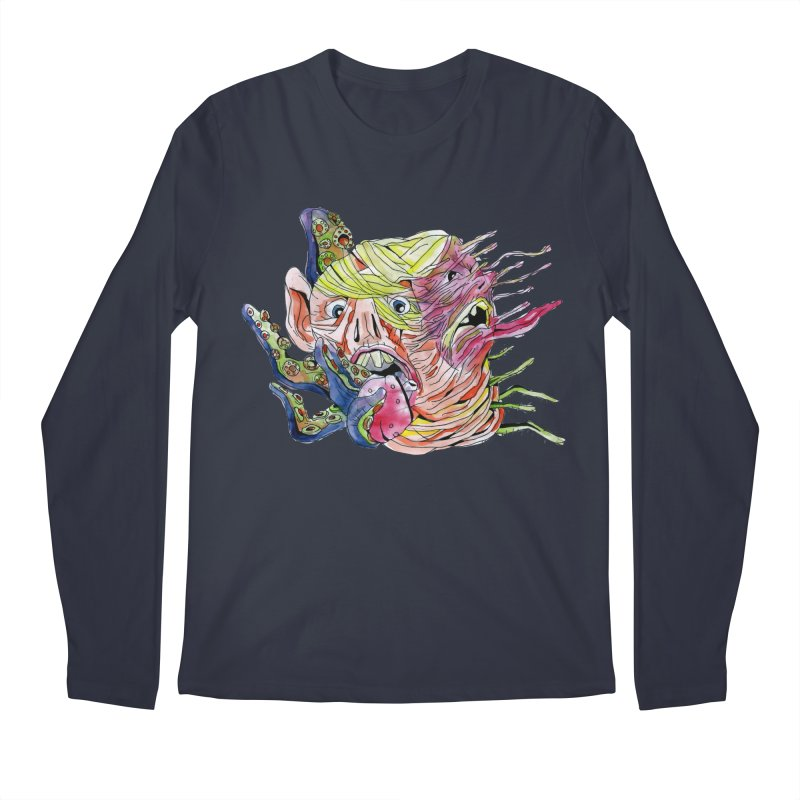 parasyte!!! Men's Regular Longsleeve T-Shirt by okik's Artist Shop