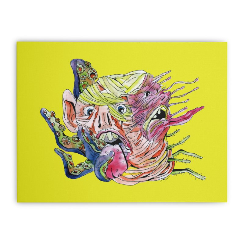 parasyte!!! Home Stretched Canvas by okik's Artist Shop