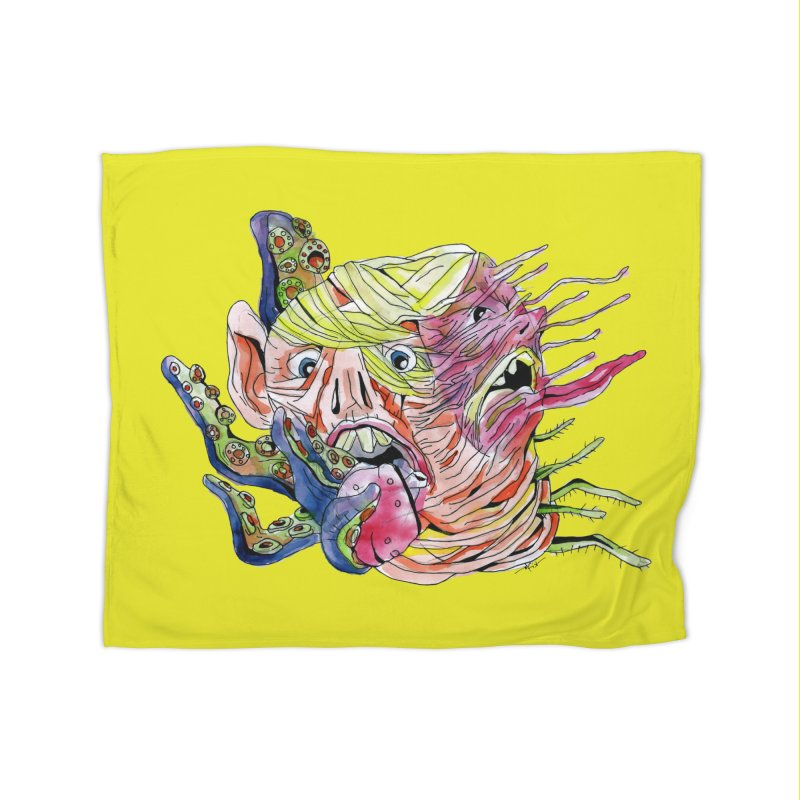 parasyte!!! Home Fleece Blanket Blanket by okik's Artist Shop