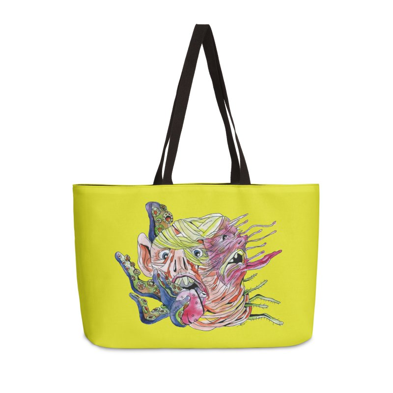 parasyte!!! Accessories Weekender Bag Bag by okik's Artist Shop