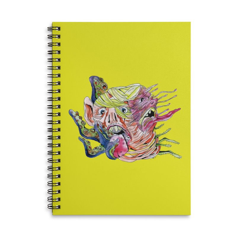 parasyte!!! Accessories Lined Spiral Notebook by okik's Artist Shop