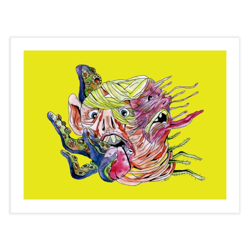 parasyte!!! Home Fine Art Print by okik's Artist Shop