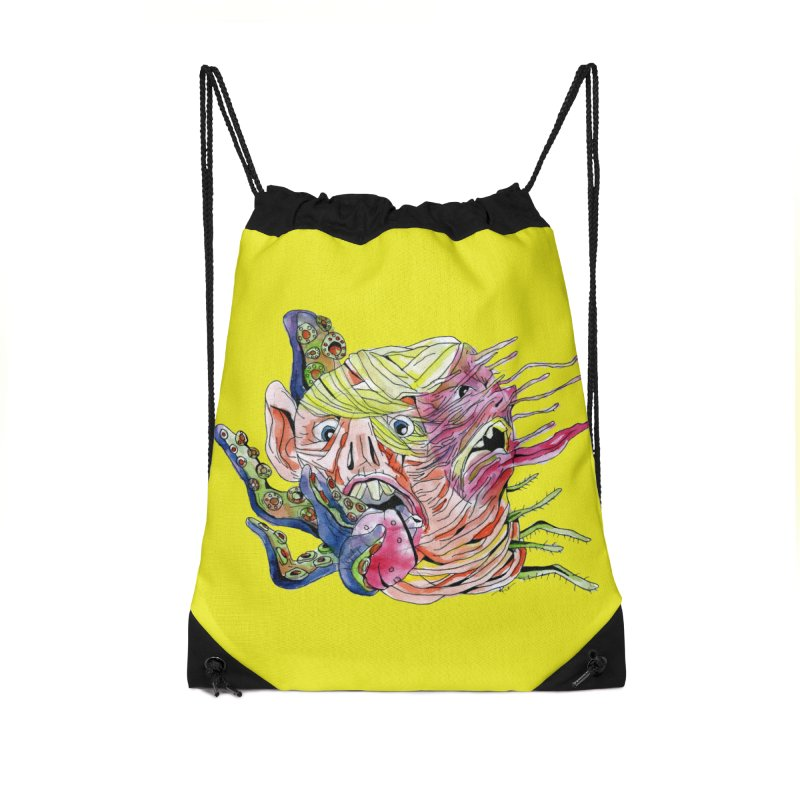 parasyte!!! Accessories Drawstring Bag Bag by okik's Artist Shop