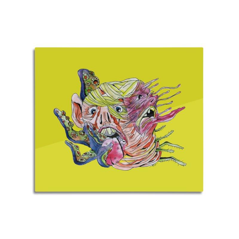 parasyte!!! Home Mounted Acrylic Print by okik's Artist Shop