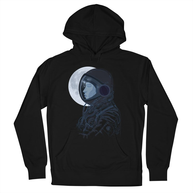 Human eclipse Women's French Terry Pullover Hoody by oktopussapiens's Artist Shop