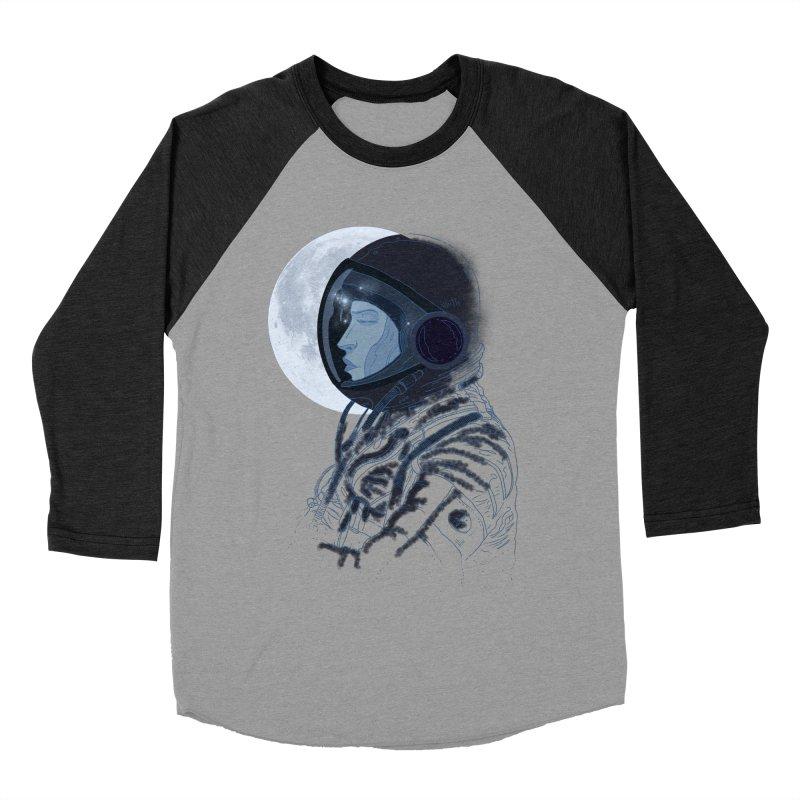 Human eclipse Men's Baseball Triblend T-Shirt by oktopussapiens's Artist Shop