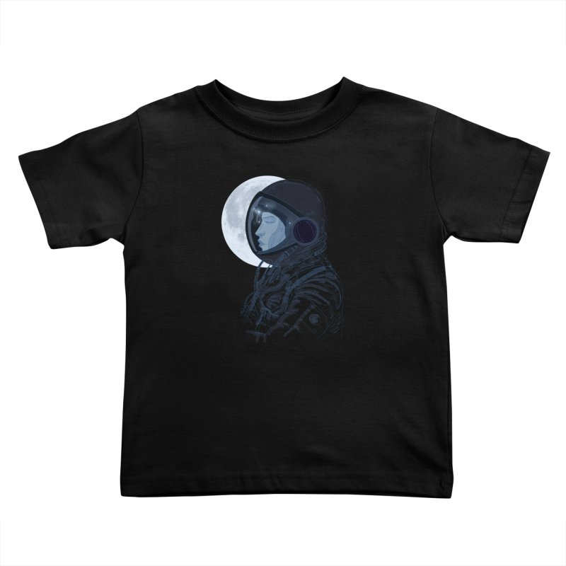 Human eclipse Kids Toddler T-Shirt by oktopussapiens's Artist Shop
