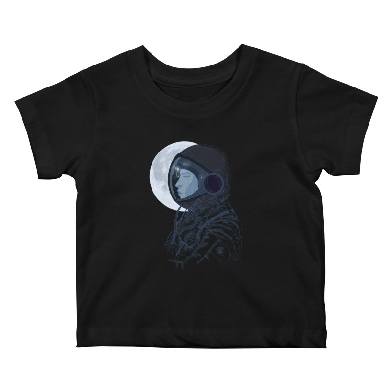 Human eclipse Kids Baby T-Shirt by oktopussapiens's Artist Shop
