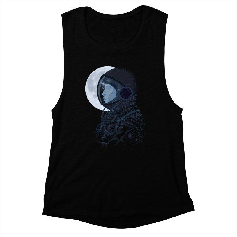 Human eclipse Women's Muscle Tank by oktopussapiens's Artist Shop
