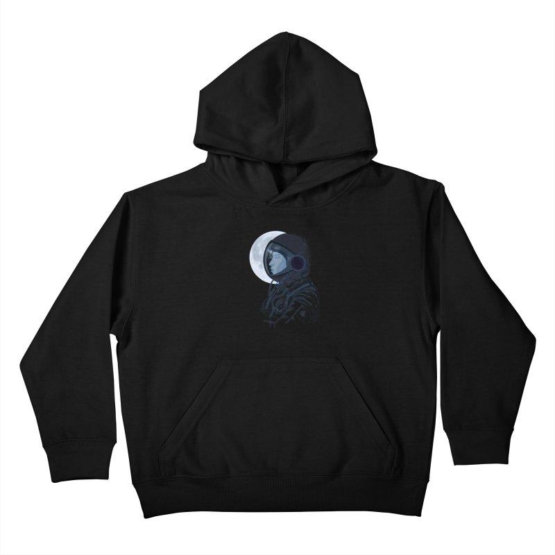 Human eclipse Kids Pullover Hoody by oktopussapiens's Artist Shop