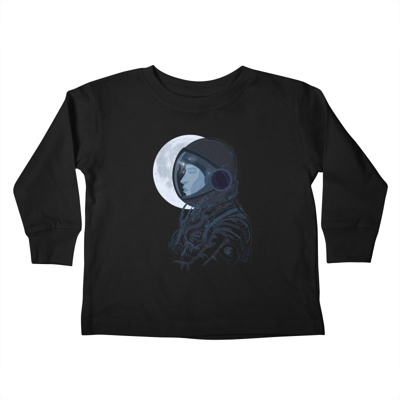 Human eclipse Kids Toddler Longsleeve T-Shirt by oktopussapiens's Artist Shop