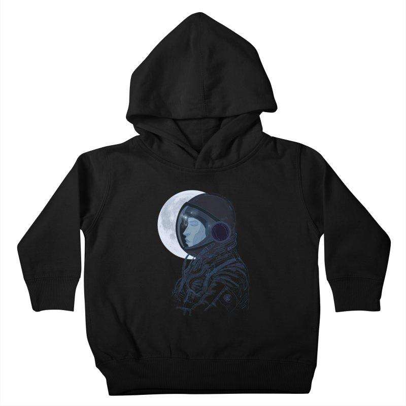 Human eclipse Kids Toddler Pullover Hoody by oktopussapiens's Artist Shop