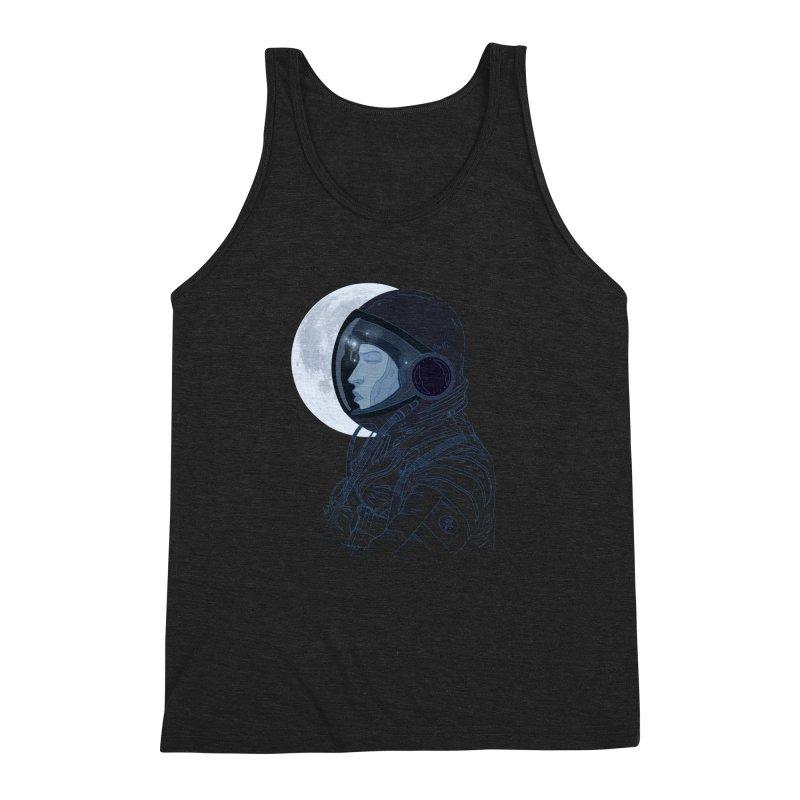 Human eclipse Men's Triblend Tank by oktopussapiens's Artist Shop