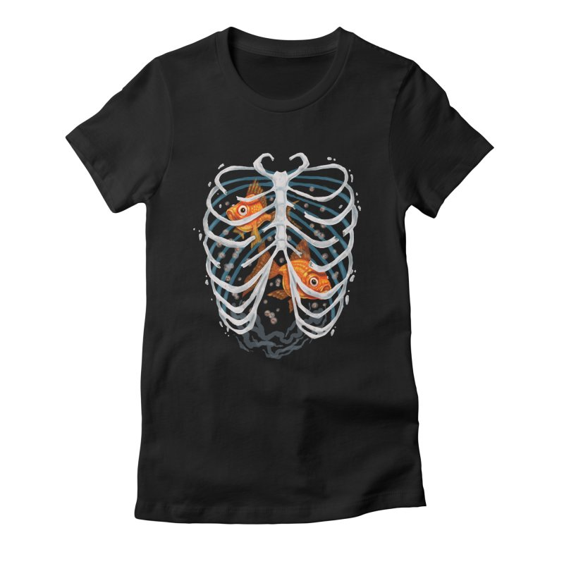 Life and death Women's Fitted T-Shirt by oktopussapiens's Artist Shop