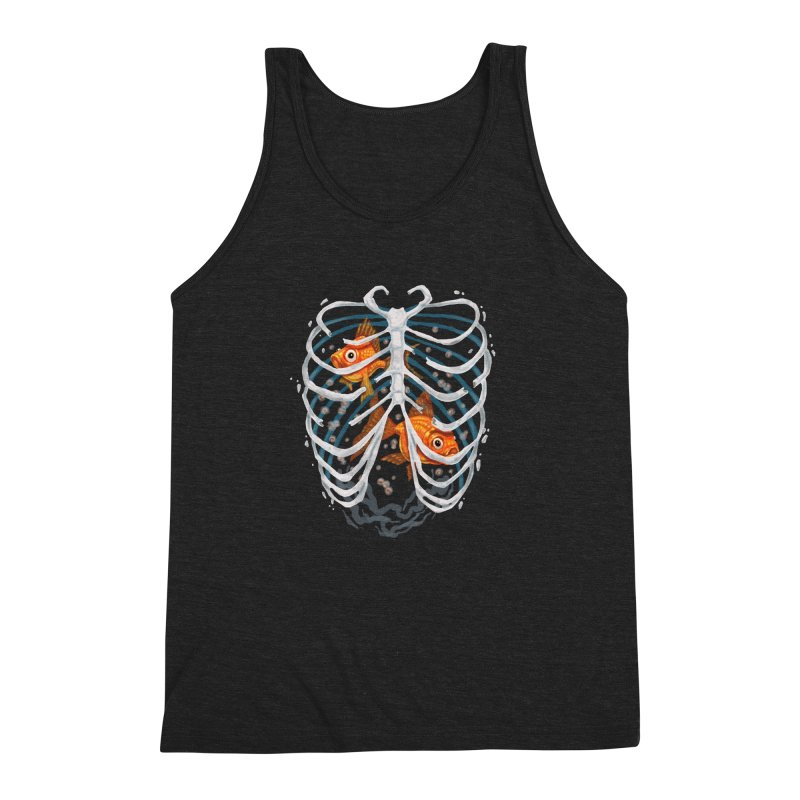 Life and death Men's Triblend Tank by oktopussapiens's Artist Shop