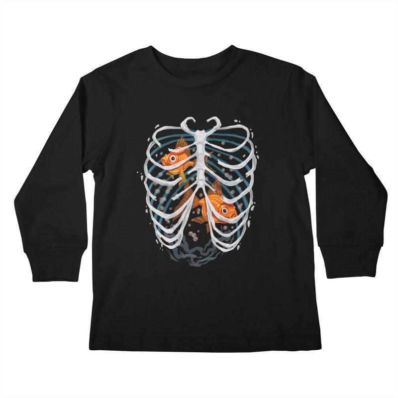 Life and death Kids Longsleeve T-Shirt by oktopussapiens's Artist Shop