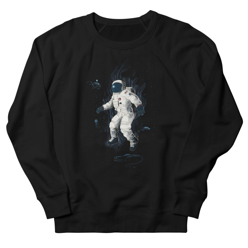 Lost in the abyss of space Women's Sweatshirt by oktopussapiens's Artist Shop